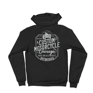 Motorcycle Garage Hoddie