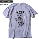 Cotton Casual Pug Life Men T-Shirts