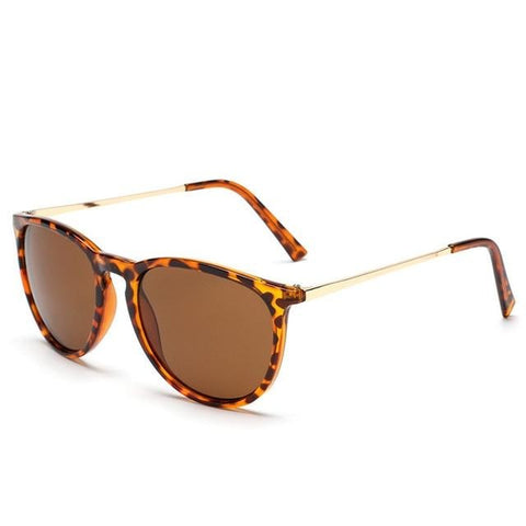 Retro Male Round Sunglasses