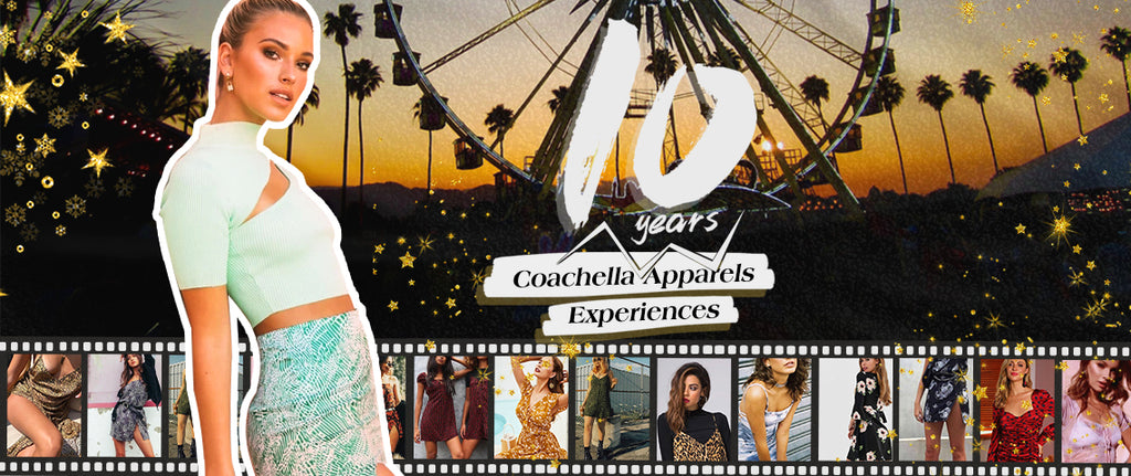 Coachella 10 Years Apparel experience