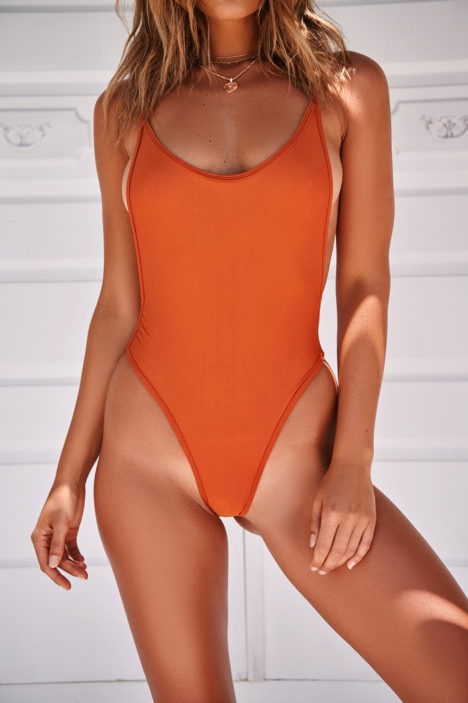 Wholesale THE PAMELA ONE PIECE (ORANGE) N350 - WinkGalB2B