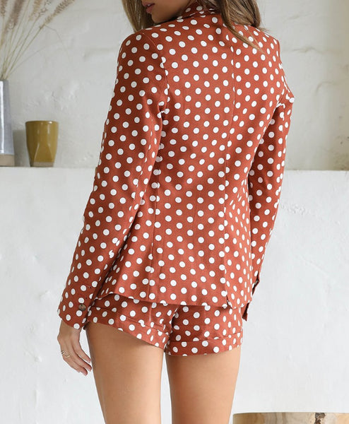 Wholesale GAIA SHORTS - RUST SPOT N893 - WinkGalB2B