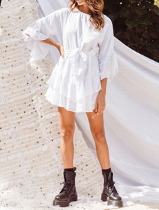 Wholesale What The Sea Wants Dress White N1252 - WinkGalB2B