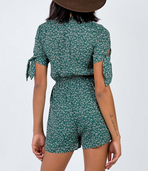 Wholesale CATTI PLAYSUIT GREEN N1375 - WinkGalB2B