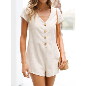 Wink Gal  WILLOW PLAYSUIT BIEGE P17246 - WinkGalB2B