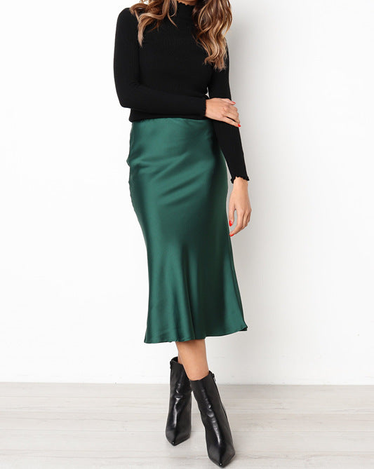 GREEN SKIRT N75 - WinkGalB2B