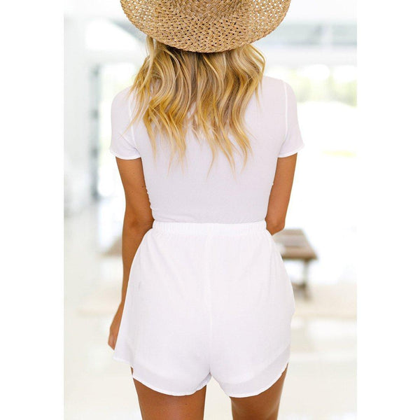 Wink Gal SHOW BUSINESS PLAYSUIT White P17242 - WinkGalB2B