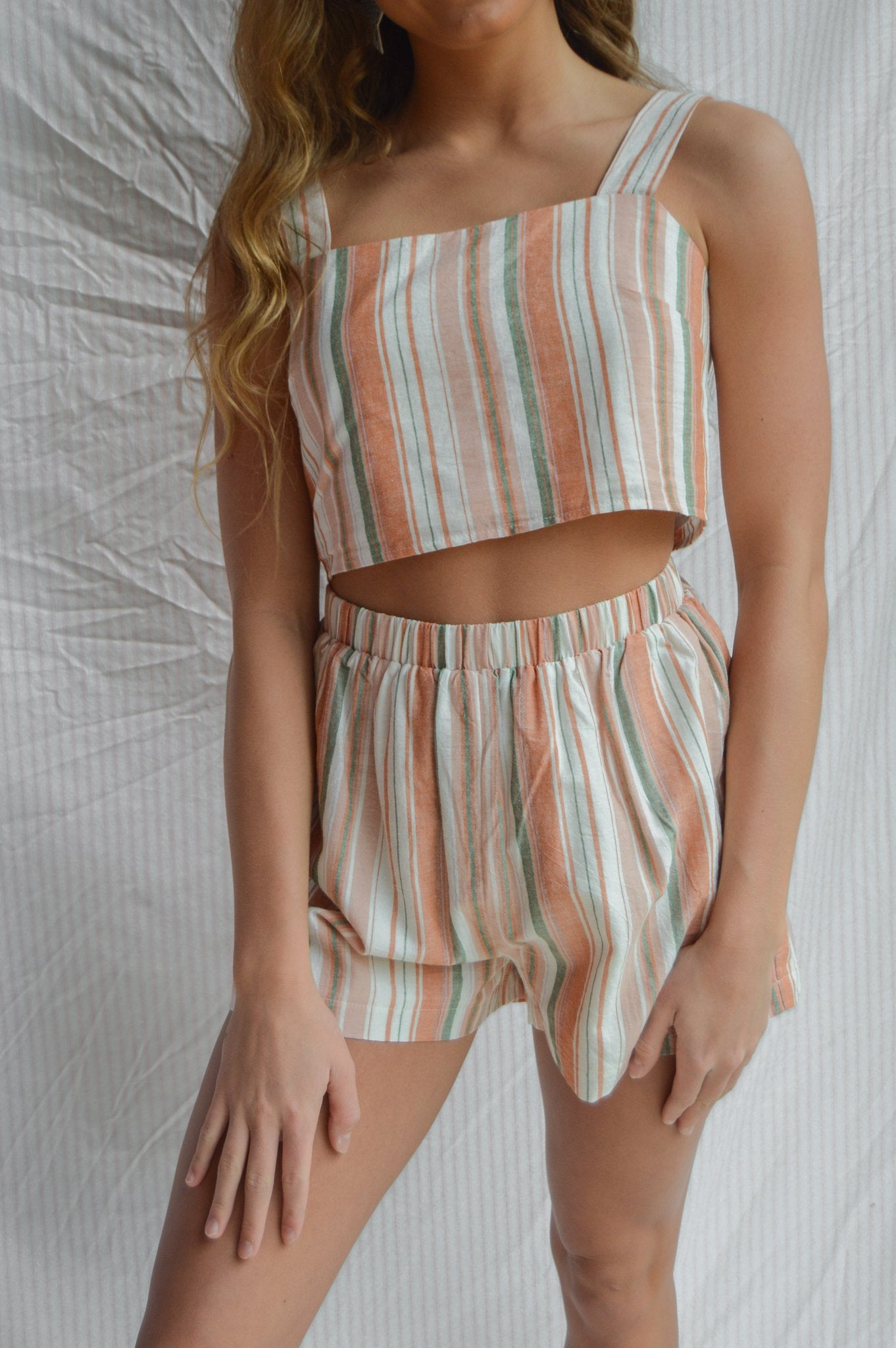 Wholesale PASTEL STRIPED SET N1121 - WinkGalB2B