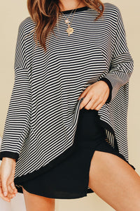 Wholesale On Set Knit // Stripe N875 - WinkGalB2B