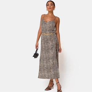 Luna Maxi Dress Silver I00012 (10pcs/pack) - WinkGalB2B