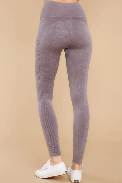 Wholesale My Goodness Mauve Leggings Purple N1633 - WinkGalB2B