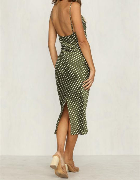 Wholesale PLAY IT COOL DRESS GREEN N204 - WinkGalB2B