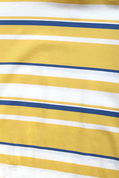Wholesale San Francisco Culture Stripe Tee // Yellow N710 - WinkGalB2B