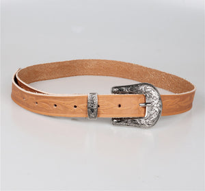 Wholesale Ladies Vintage Western Leather Belts for Women Genuine Leather Belt N224 - WinkGalB2B