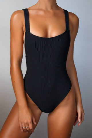 Wholesale Black one piece swimsuit N683 - WinkGalB2B
