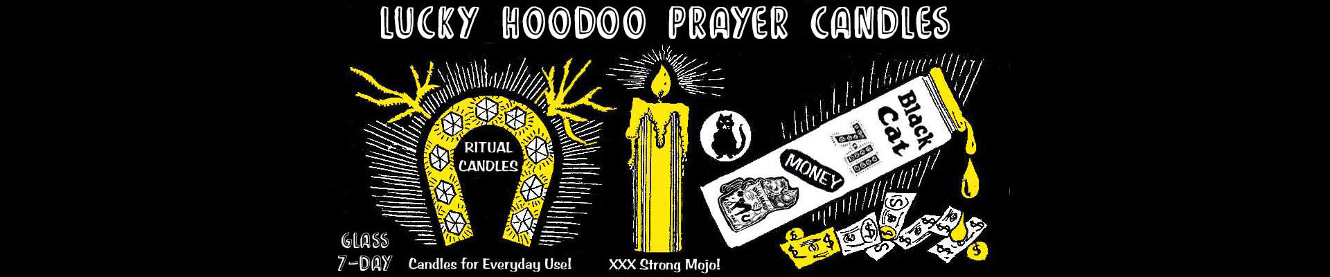 Hoodoo Prayer Candles