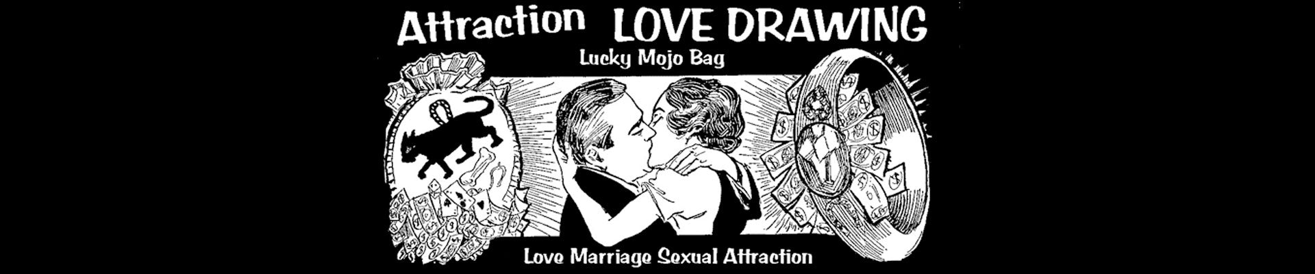 Love Attraction Mojo Bags