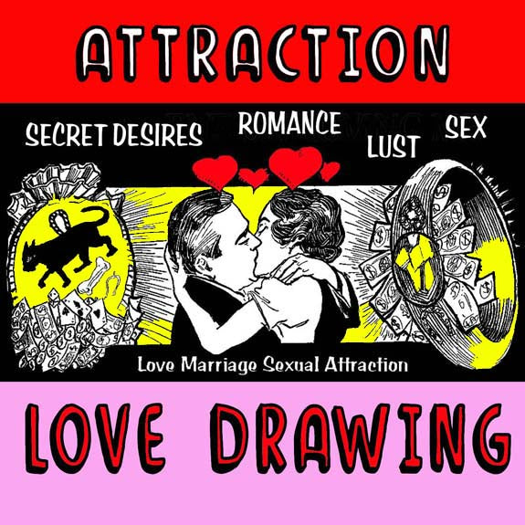 Prayer Candle - Attraction Love Drawing
