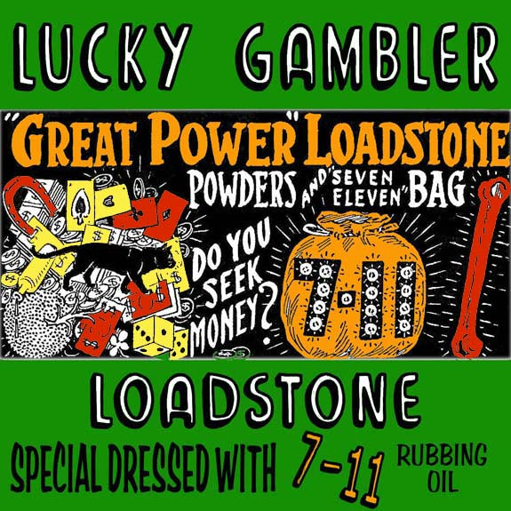 Prayer Candle - Lucky Gambler Lodestone