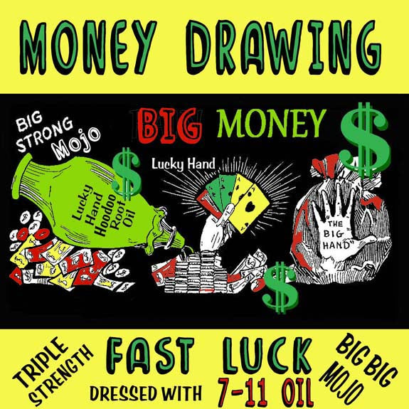 Prayer Candle - Money Drawing Fast Luck