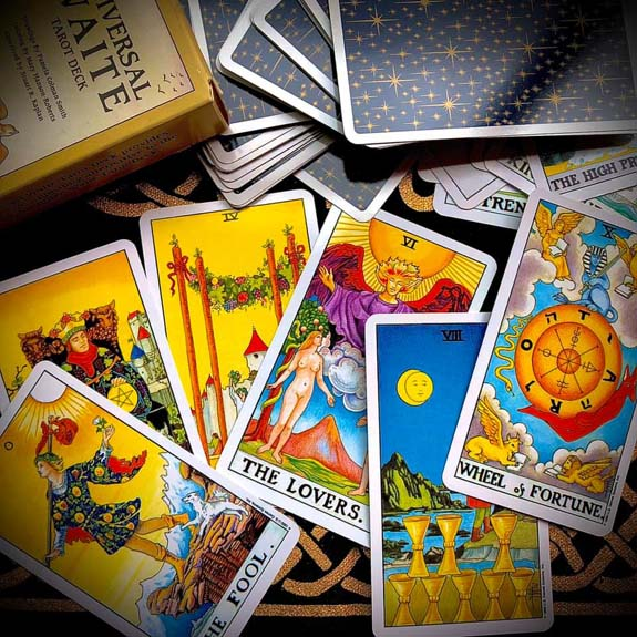 Reading - Le Tarot Egyptien Deck