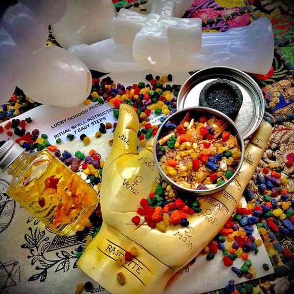 Ritual Spell Kit - Healing Cleansing