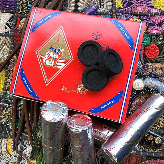 Three Kings Brand Incense Burning Charcoal
