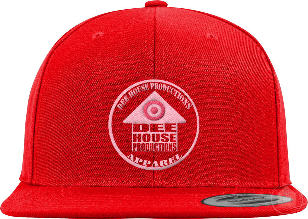 Dee House Productions Apparel Red / Pink Colorway Snapback