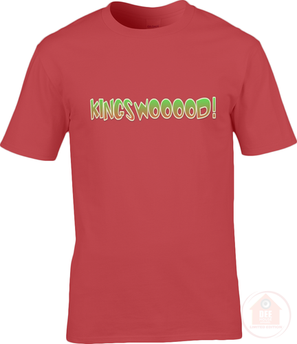 KINGSWOOOOD! Red x Green Men's T-Shirt