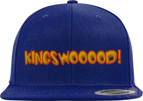 KINGSWOOOOD! Blue / Yellow Colorway Snapback