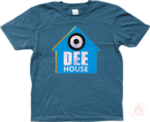 Dee House Indigo x Blue Kid's T-Shirt