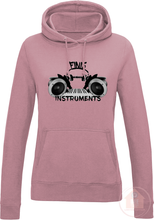 Load image into Gallery viewer, Prod. By Finis Instruments Women's Fitted Hoodie