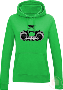 Prod. By Finis Instruments Women's Fitted Hoodie