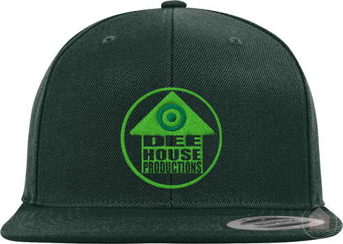 Dee House Productions Green Colorway Snapback
