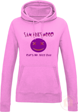 Load image into Gallery viewer, Rap's Mr. Nice Guy Women's Fitted Hoodie