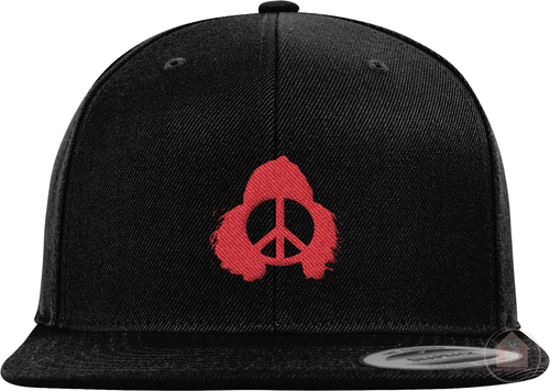 Cardo Black & Red Colorway Snapback
