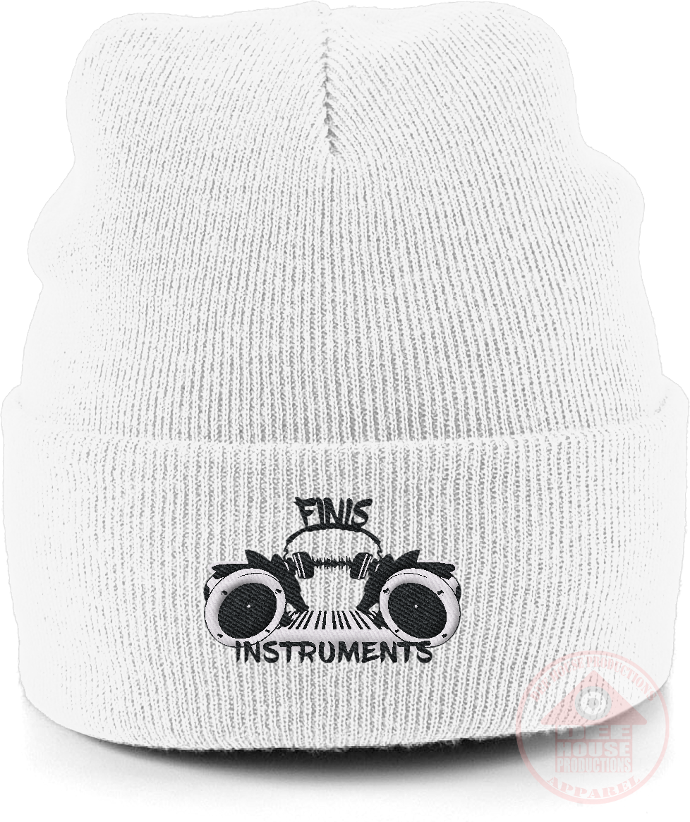 Finis Instruments Logo Beanie-Dee House Productions