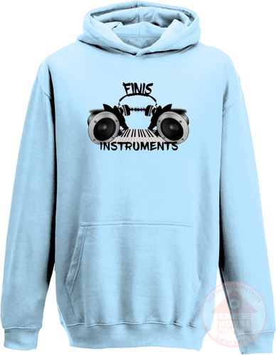 Finis Instruments Logo Hoodie-Dee House Productions