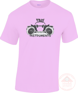 Finis Instruments Logo Unisex T-Shirt-Dee House Productions