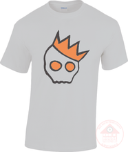 Load image into Gallery viewer, NationofCharles Black x Orange Logo Unisex T-Shirt-Dee House Productions
