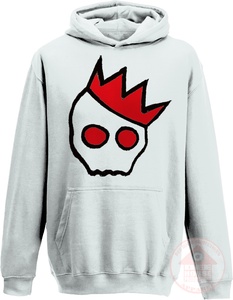 NationofCharles Black x Red Logo Hoodie-Dee House Productions
