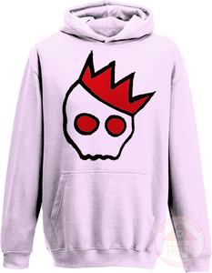 NationofCharles Black x Red Logo Kid's Hoodie-Dee House Productions