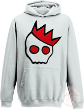 Load image into Gallery viewer, NationofCharles Black x Red Logo Kid's Hoodie-Dee House Productions