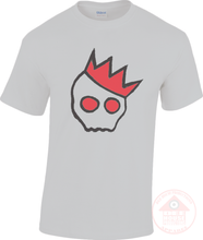 Load image into Gallery viewer, NationofCharles Black x Red Logo Unisex T-Shirt-Dee House Productions