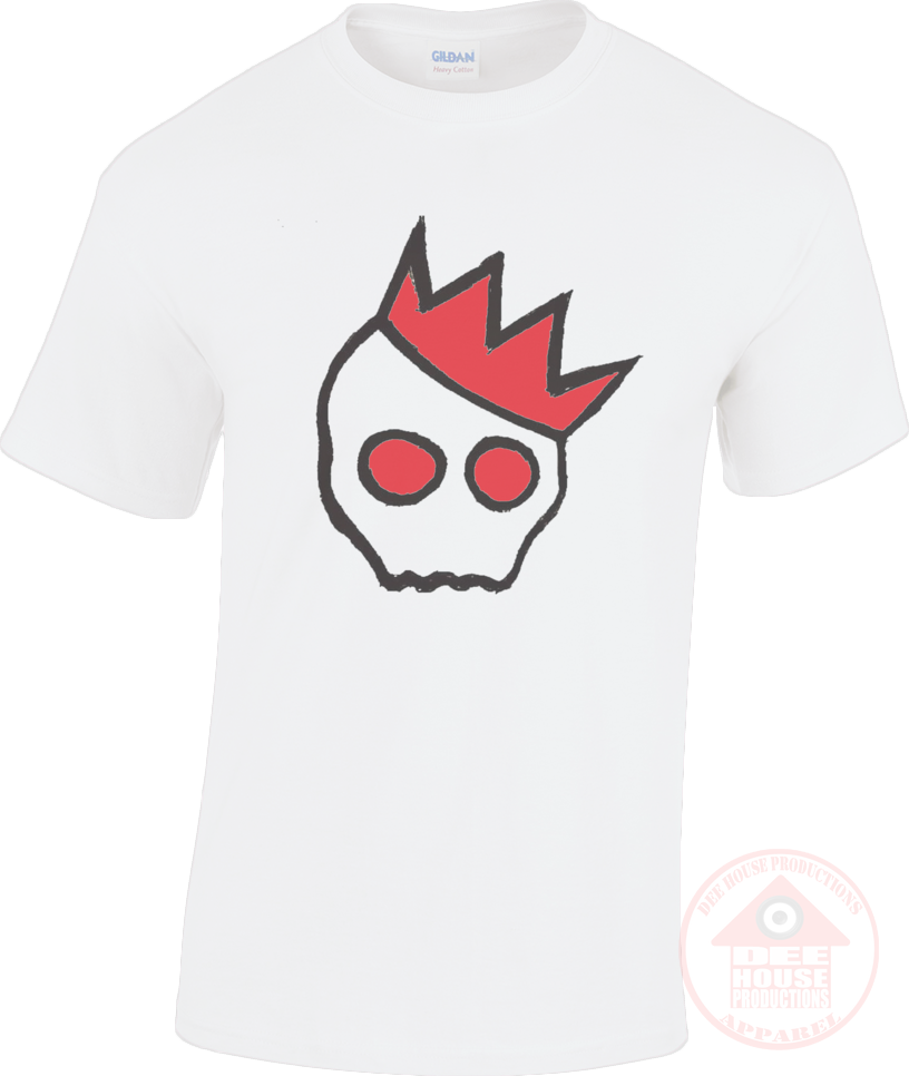 NationofCharles Black x Red Logo Unisex T-Shirt-Dee House Productions
