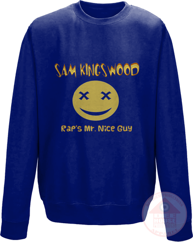 Rap's Mr. Nice Guy Gold Sweatshirt-Dee House Productions