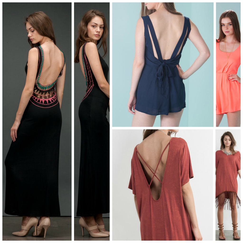 f9a88709298e Timeless Clothing Trends  Backless Dresses for Summer