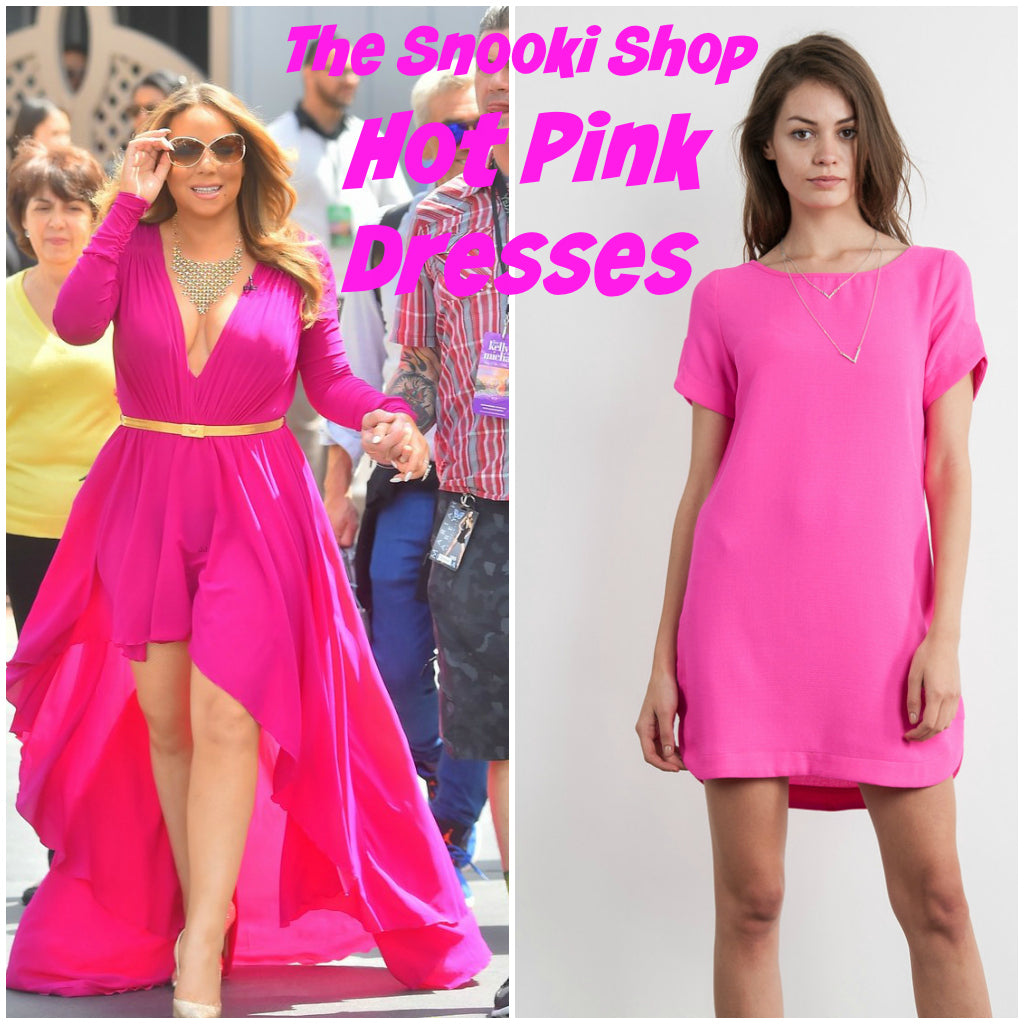 606e3ba0b99b Summer Trend  Hot Pink Dresses