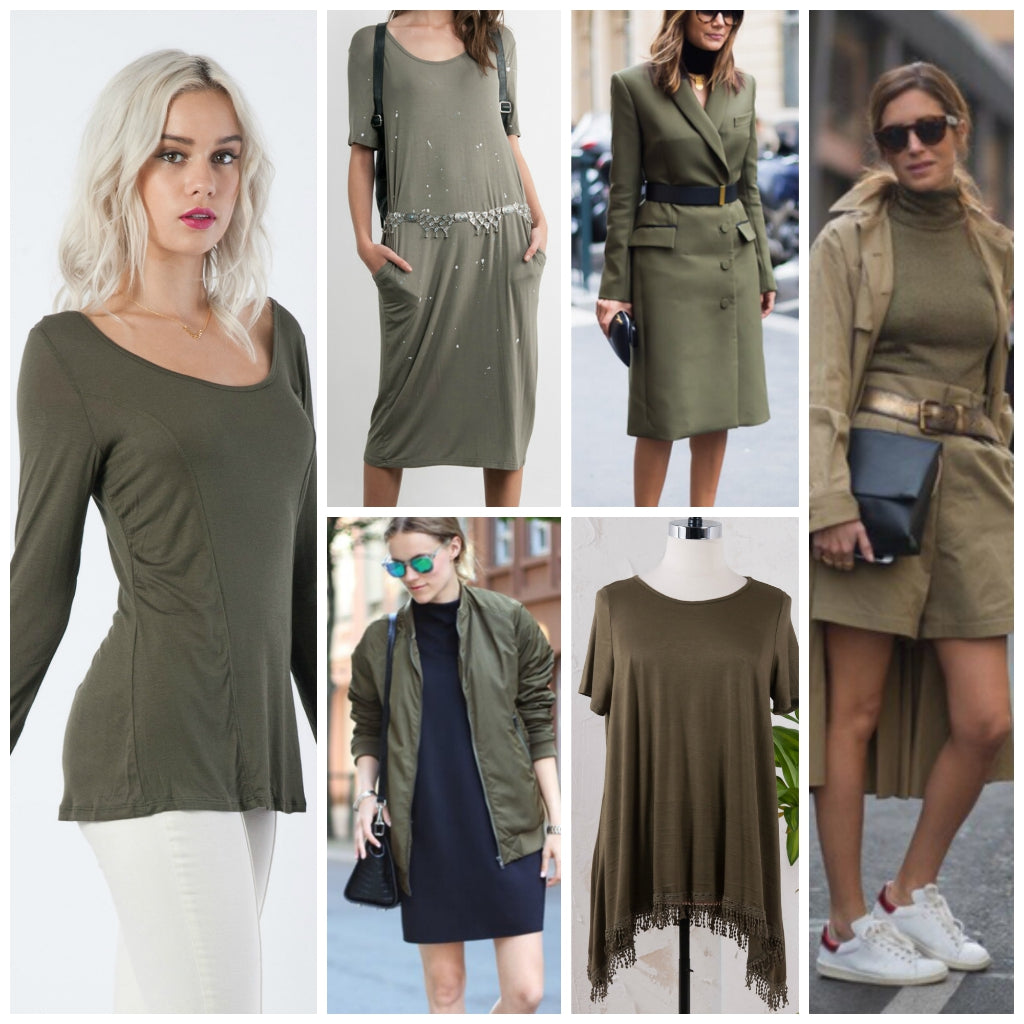 Fall Trends Olive Green The Snooki Shop
