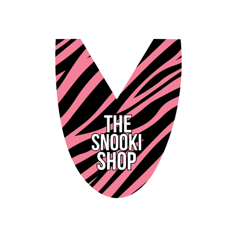 Extra The Snooki Shop Zlipperz Tops - Hot Pink Zebra